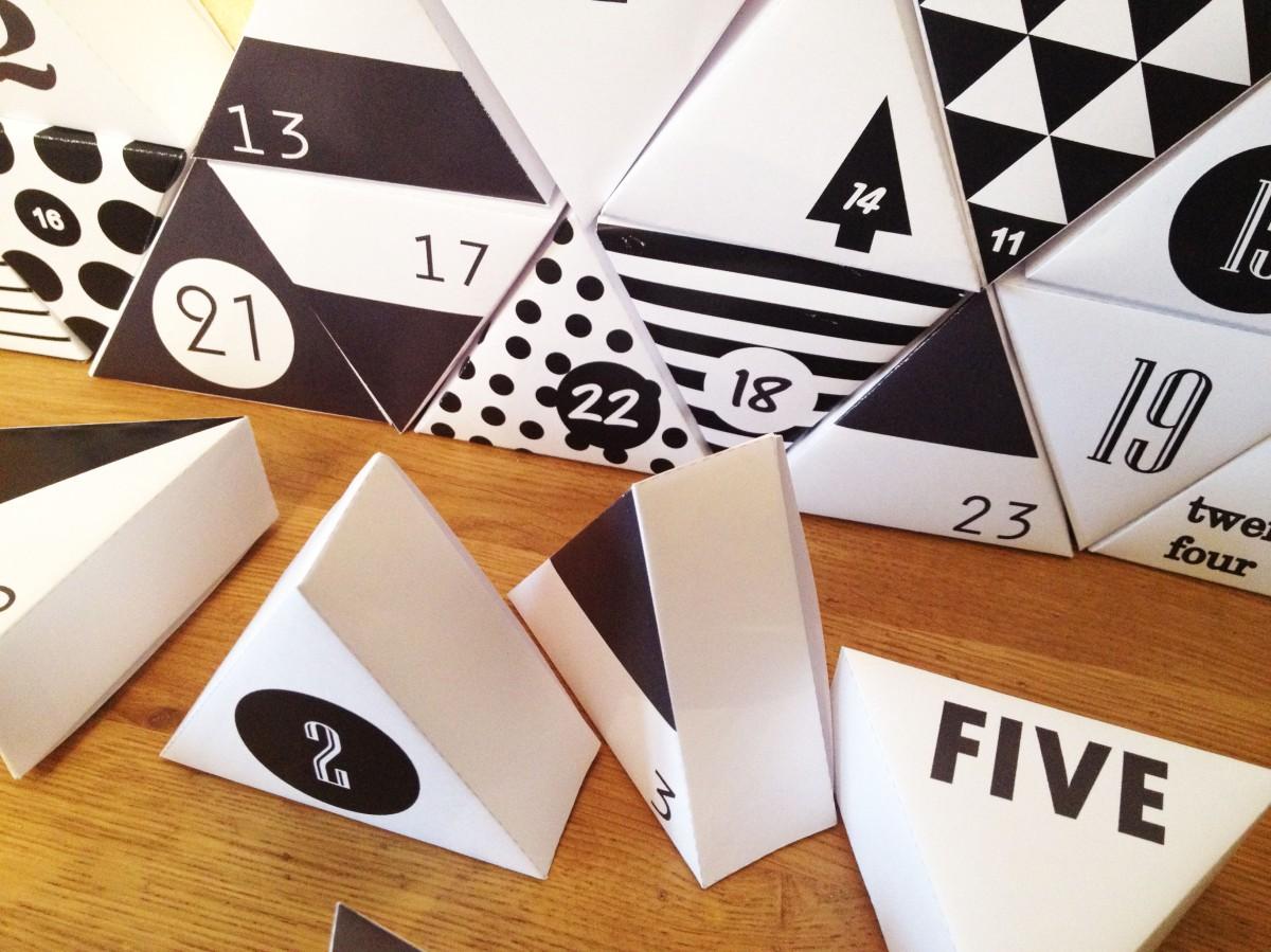 DIY & Calendrier de l'Avent Géométrique