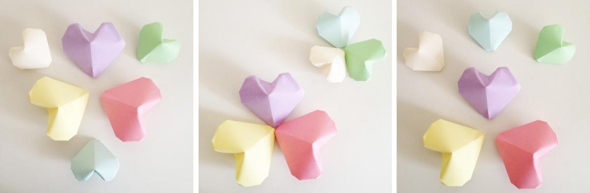 DIY & Coeur origami