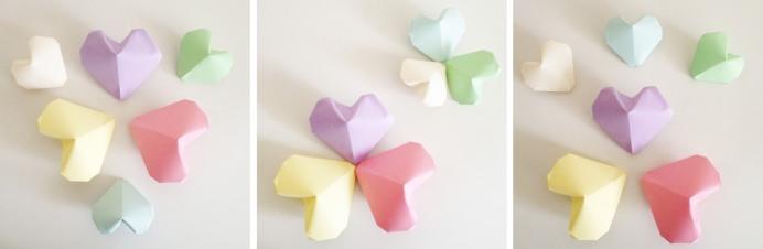 DIY Origami Coeur Loïcia Itréma