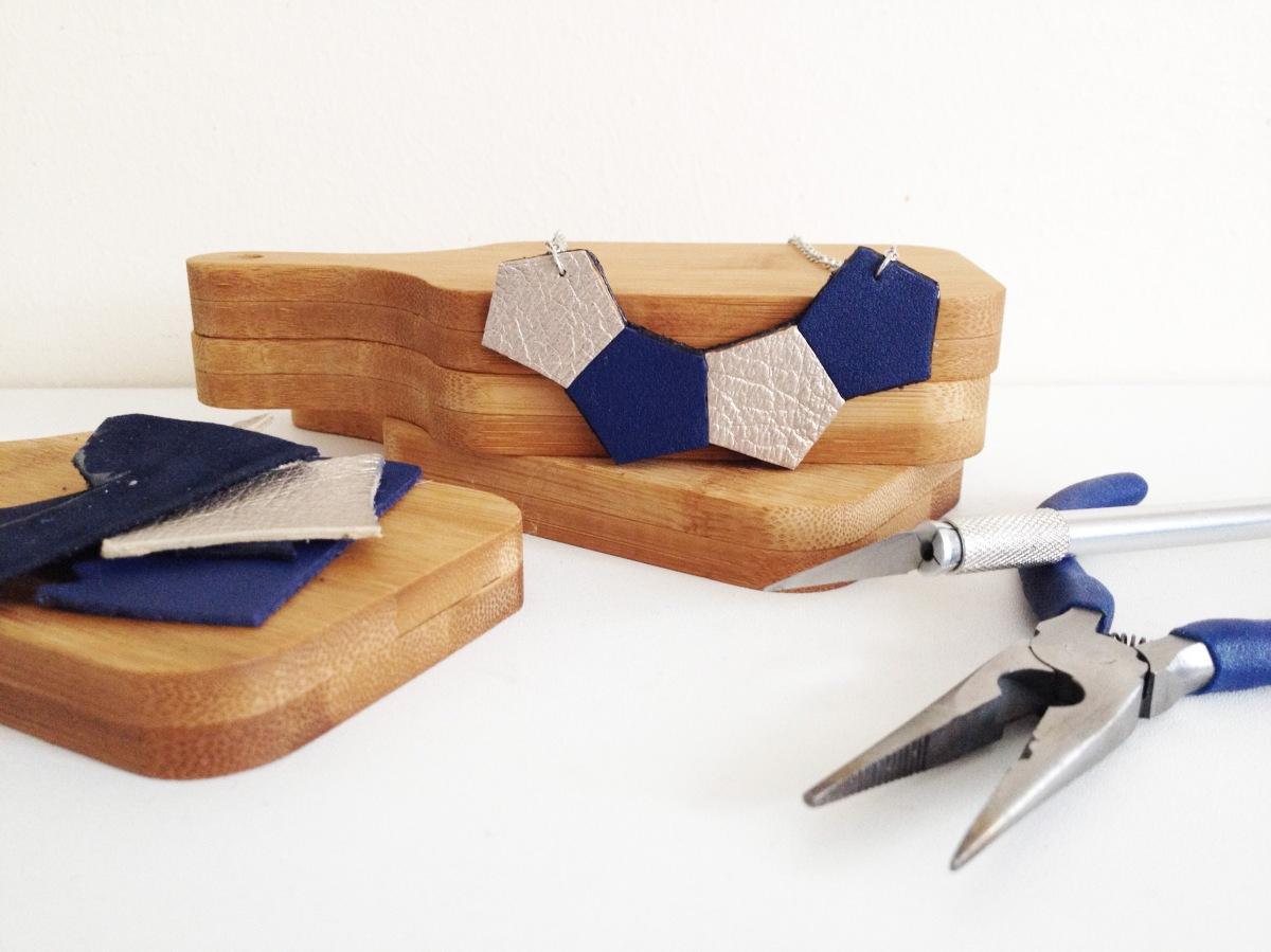 DIY & Collier géométrique