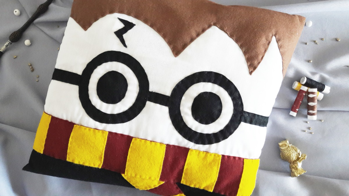 DIY & Coussin Harry Potter