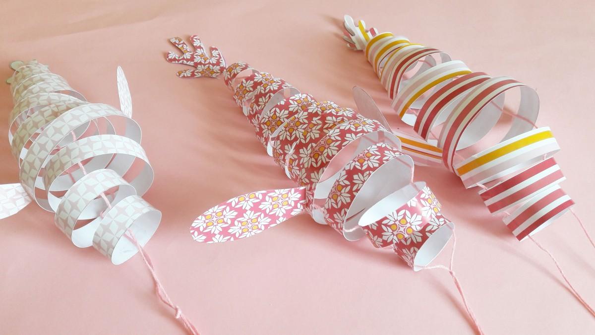 DIY & Poissons en papier