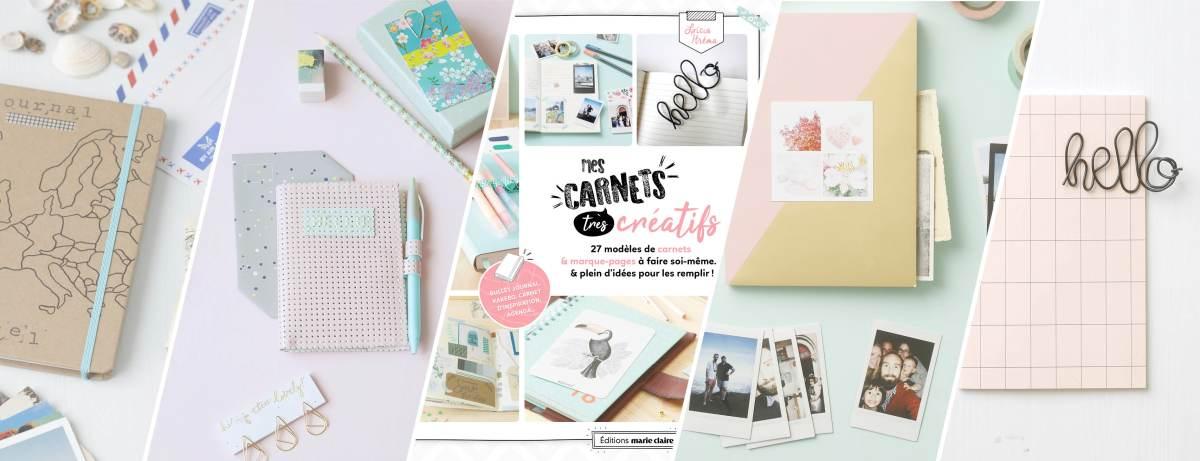 Mon livre & Mes carnets (très) créatifs