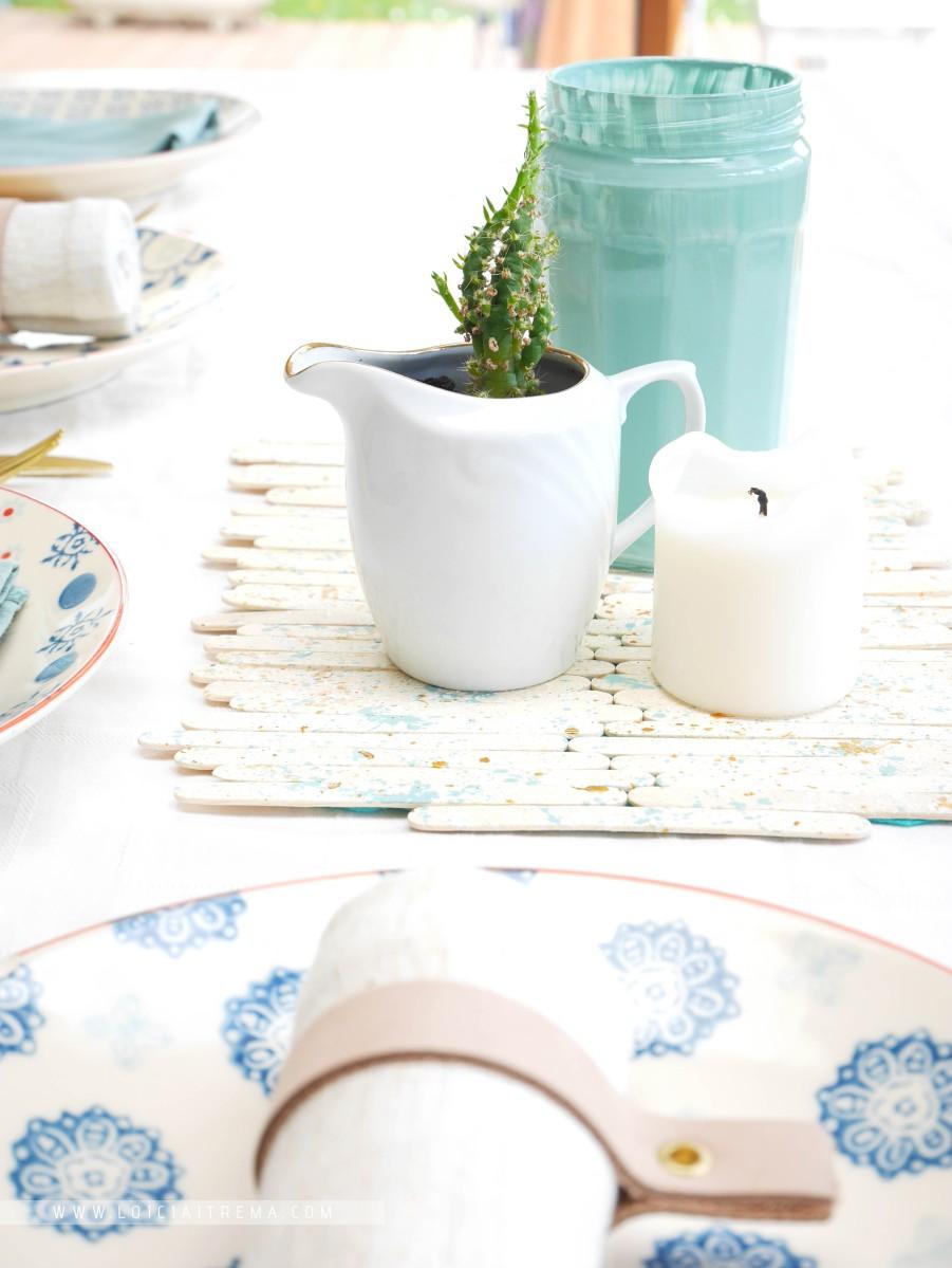 DIY & Chemin de table recyclé